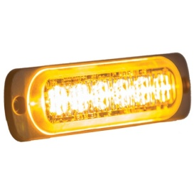 Buy Buyers Products 8891900 LIGHT,STROBE,4-3/8IN,6-LED,AMBER - Emergency