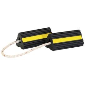 Buy Buyers Products WC24483 WHEEL CHOCK, W/ROPE,PR 4X4X8 - Chocks Pads and