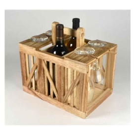 Buy Fleming Sales 15001BG WINE CADDY CRATE - Patio Online|RV Part Shop USA