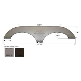 Buy Icon 12809 Keystone Tandem FS2809 - Mauve Gray - Fenders Online|RV