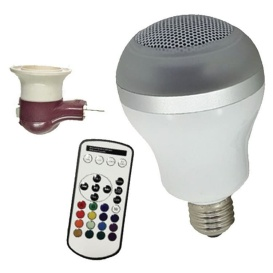 Multicolor Bluetooth Speaker Bulb LED