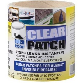 "QUICK ROOF CLEAR PATCH-TAPE 4""X6'"