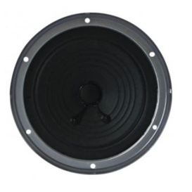 "Heavy Duty 5.25"" Dual Cone Entry Level Speaker, Black, 24 Watts"