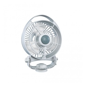 Bora 12V Marine Fan. Direct Wire, Low Draw White