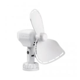 Ultimate Direct Wire 12V Cabin Fan, White, Small