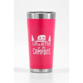 Buy Camco 53061 Life is Better at The Campsite Stainless Steel 20 oz.