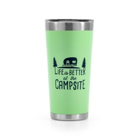 Buy Camco 53063 Life is Better at The Campsite Stainless Steel 20 oz.