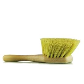 Yellow Chemical Resistant Stiffy Brush, , 1 Pack