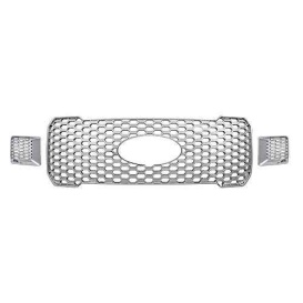 CCI Grille Overlay 3Pc Chrome