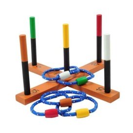 Buy GSI Sports 99949 Outside Inside Freestyle Ring Toss - Games Toys &