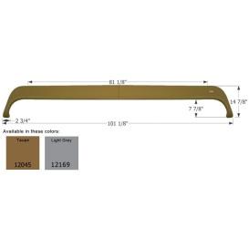 Buy Icon 12169 Fender Skirt, Triple, Monaco, FS2045, Light Grey - Fenders