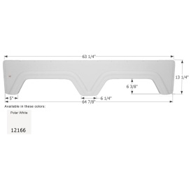 Buy Icon 12166 Fender Skirt Tandem Glendale - Fenders Online|RV Part Shop