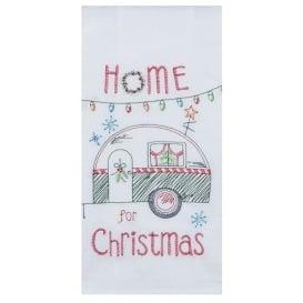 Buy Kay Dee Design H3200 Embroidered Christmas Camper Trailer Flour Sack