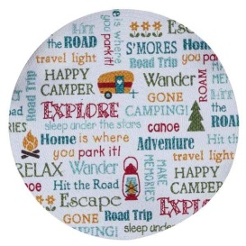 Camping Life Explore Adventure Relax Placemats Kitchen or Dining Room Set of 4