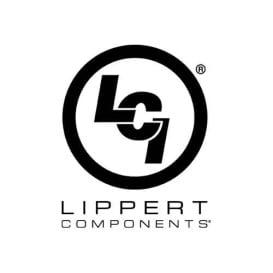 Buy Lippert 806621 Black Thin Shade Complete Window Kit for RV Entry Doors