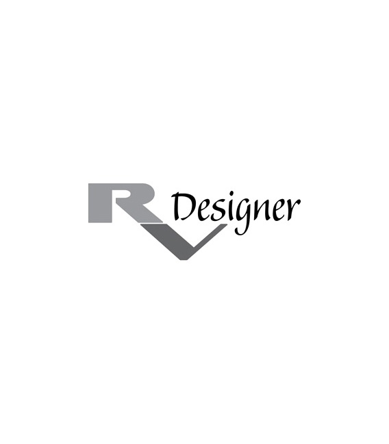 "Buy RV Designer E569 Black 50 Foot Roll Collection Insert Trim HD 1"" X 50'"