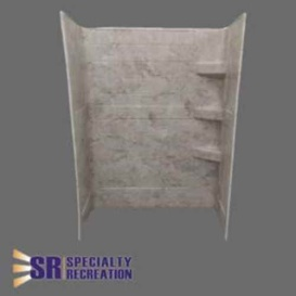 Buy Specialty Recreation SW2440GT Shower Wall 24X40X66 Grand Teton - Tubs