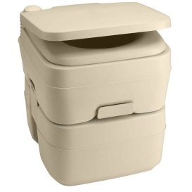 Buy Dometic 311096502 965 Portable Toilet w/Mounting Brackets- 5 Gallon -