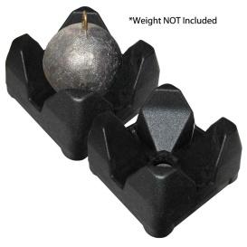 Buy Scotty 3022-BK 3022-BK Weight Mate - Black 2 Pack - Hunting & Fishing