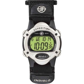 Buy Timex T47852 Expedition Women's Chrono Alarm Timer - Silver/Black -
