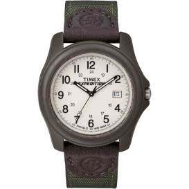 Buy Timex T49101 Expedition Unisex Camper Brown/Olive Green - Outdoor
