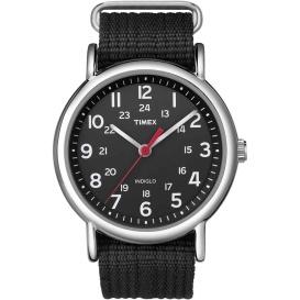 Buy Timex T2N647 Weekender Slip-Thru Watch - Black - Outdoor Online RV