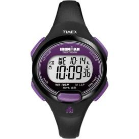 Buy Timex T5K523JV IRONMAN 10-Lap Watch - Mid-Size - Purple/Black -