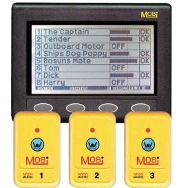 Buy Clipper CL-MOBI MOBi Man Overboard Indicator w/3 Fobs - Marine Safety