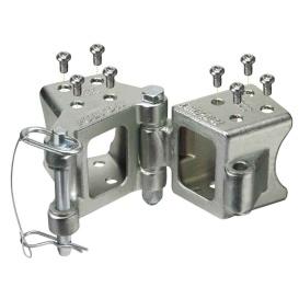 """Buy Fulton HDPB330101 Fold-Away Bolt-On Hinge Kit 3"""" x 3"""" Trailer Beam"""