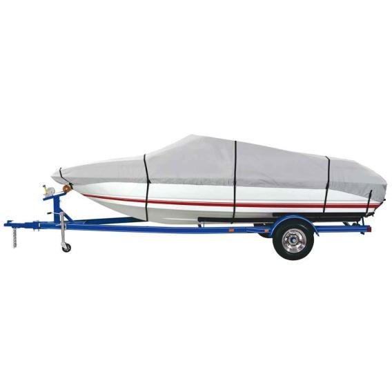 Buy Dallas Manufacturing Co. BC3121E 600 Denier Grey Universal Boat Cover