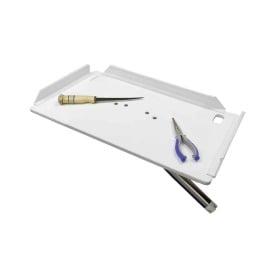 "Buy TACO Marine P01-2120W 20"" Poly Filet Table w/Adjustable Gunnel Mount -"
