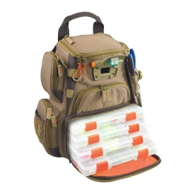 RECON Lighted Compact Tackle Backpack w/4 PT3500 Trays
