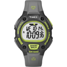 Buy Timex T5K692 Ironman 30-Lap Full-Size - Grey/Neon Green - Outdoor