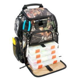 RECON Mossy Oak Compact Lighted Backpack w/4 PT3500 Trays