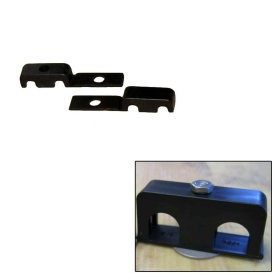 """Buy Weld Mount 80250 Double Poly Clamp f/1/4"""" x 20 Studs - 1/4"""" OD -"""
