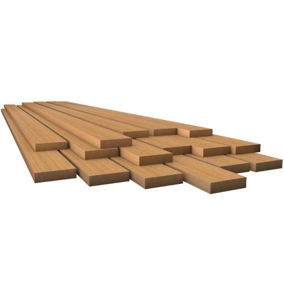 """Buy Whitecap 60811 Teak Lumber - 1/2"""" x 1-3/4"""" x 30"""" - Marine Hardware"""