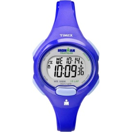 Buy Timex T5K784 IRONMAN Traditional 10-Lap Mid-Size Watch - Blue -