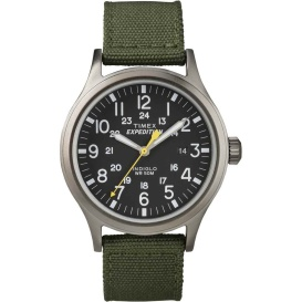 Buy Timex T49961 Expedition Scout Metal Watch - Green/Black - Outdoor