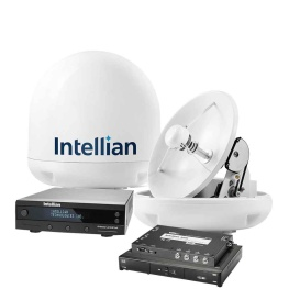 """INTELLIAN I3 """"DISH IN A BOX"""" - COMPLETE DISH NETWORK HDTV SATELLITE SYSTEM"""