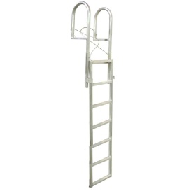 Buy Dock Edge 2037-F SLIDE-UP Aluminum 7-Step Dock Ladder - Anchoring and