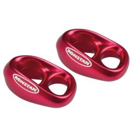 """Buy Ronstan RF8080R-2 Shock - 3/16"""" Line - 1/4"""" Webbing - Red - Pair -"""