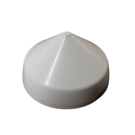 """Buy Monarch Marine WCPC-6.5 White Cone Piling Cap - 6.5"""" - Anchoring and"""
