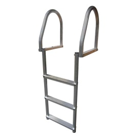 Buy Dock Edge 2173-F Aluminum 3-Step Eco Flip-Up Dock Ladder - Weld Free -