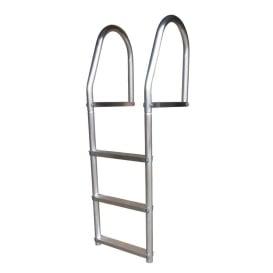 Buy Dock Edge 2073-F Fixed Eco - Weld Free Aluminum 3-Step Dock Ladder -
