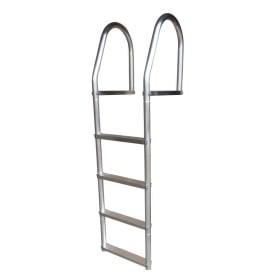 Buy Dock Edge 2074-F Fixed Eco - Weld Free Aluminum 4-Step Dock Ladder -
