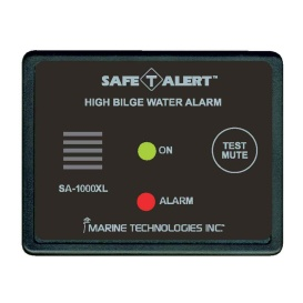 High Bilge Water Alarm - Surface Mount - Black