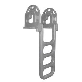 Buy Dock Edge 2064-F Flip-Up Polyethylene Roto Molded 4-Step Dock Ladder -