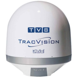 Buy KVH 01-0387 TracVision TV8 Empty Dummy Dome Assembly - Marine Audio