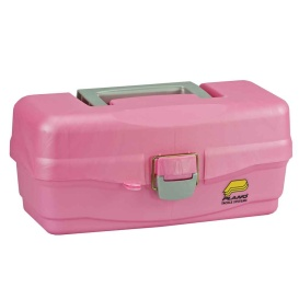 Buy Plano 500089 Youth Tackle Box w/Lift Out Tray - Pink - Outdoor