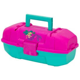 Buy Plano 500102 Youth Mermaid Tackle Box - Pink/Turquoise - Outdoor